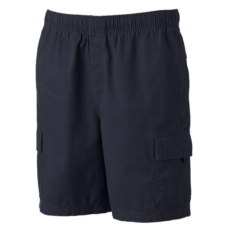 Men's Croft & Barrow® Canvas Cargo Shorts
