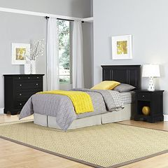 Click here to buy Home Styles 3-piece Naples Bedroom Set.