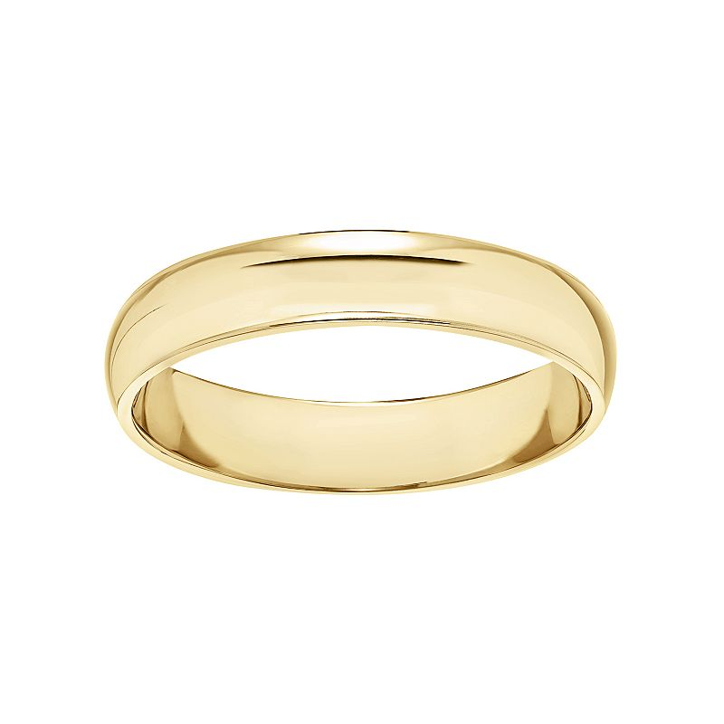 Simply Vera Vera Wang 14k Gold Wedding Band - Men