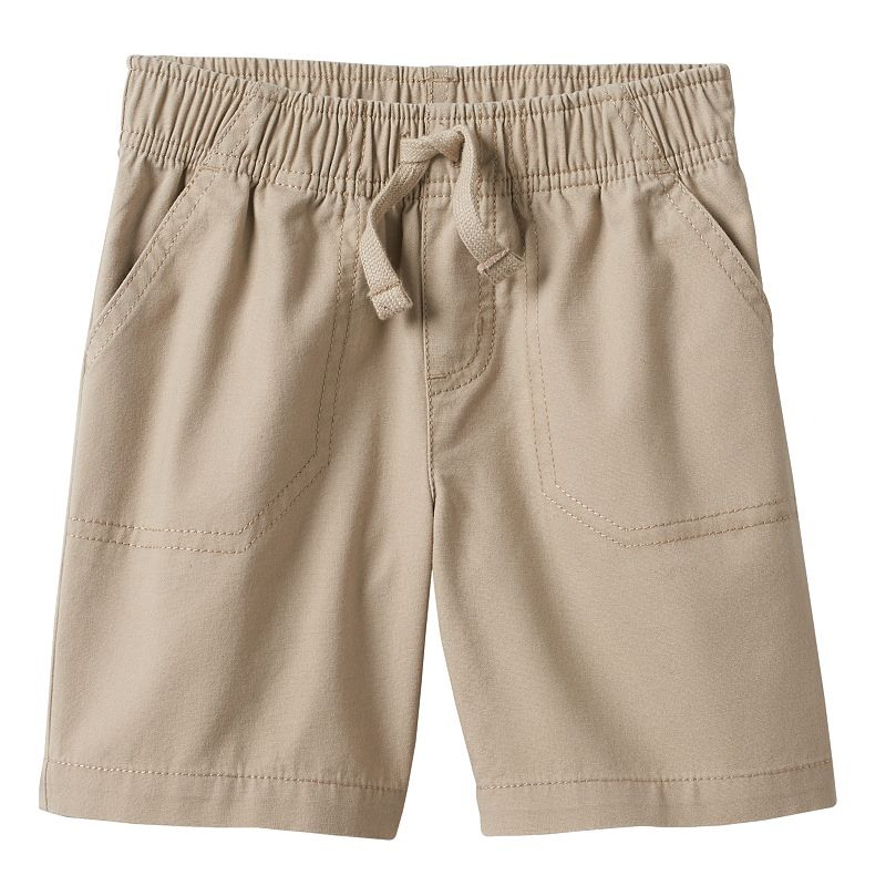 Jumping Beans® Solid Canvas Shorts - Toddler Boy