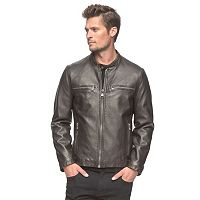 Men's AM Studio by Andrew Marc Faux-Leather Moto Jacket