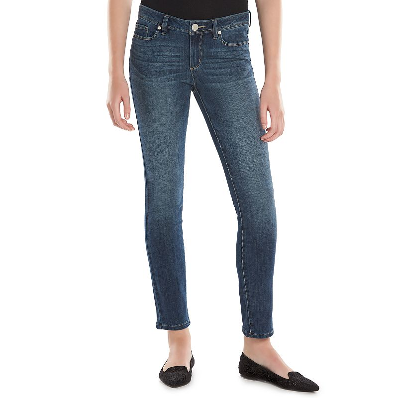 Women's LC Lauren Conrad Faded Skinny Jeans