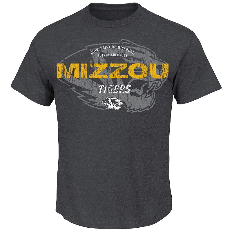 Men's Section 101 by Majestic Missouri Tigers Ours To Win Tee