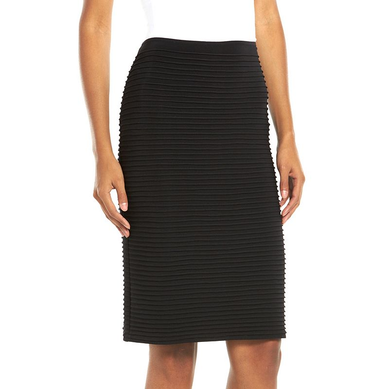 Chaya Ribbed Midi Pencil Skirt - Women's