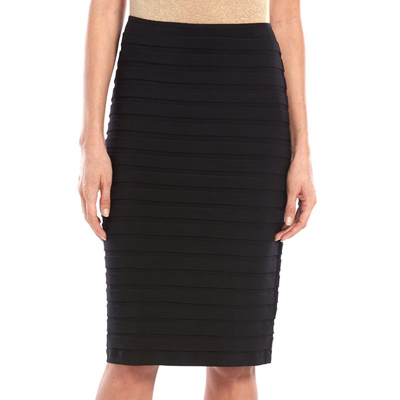Women's Scarlett Pintuck Pencil Skirt