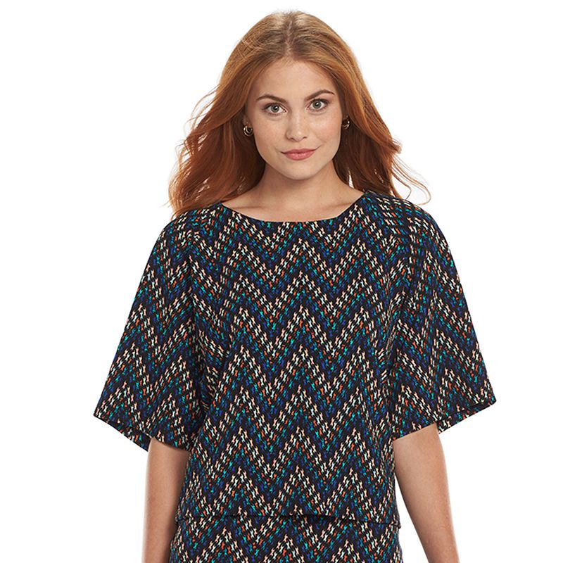 Loramendi Zigzag Raglan Crop Top - Women's