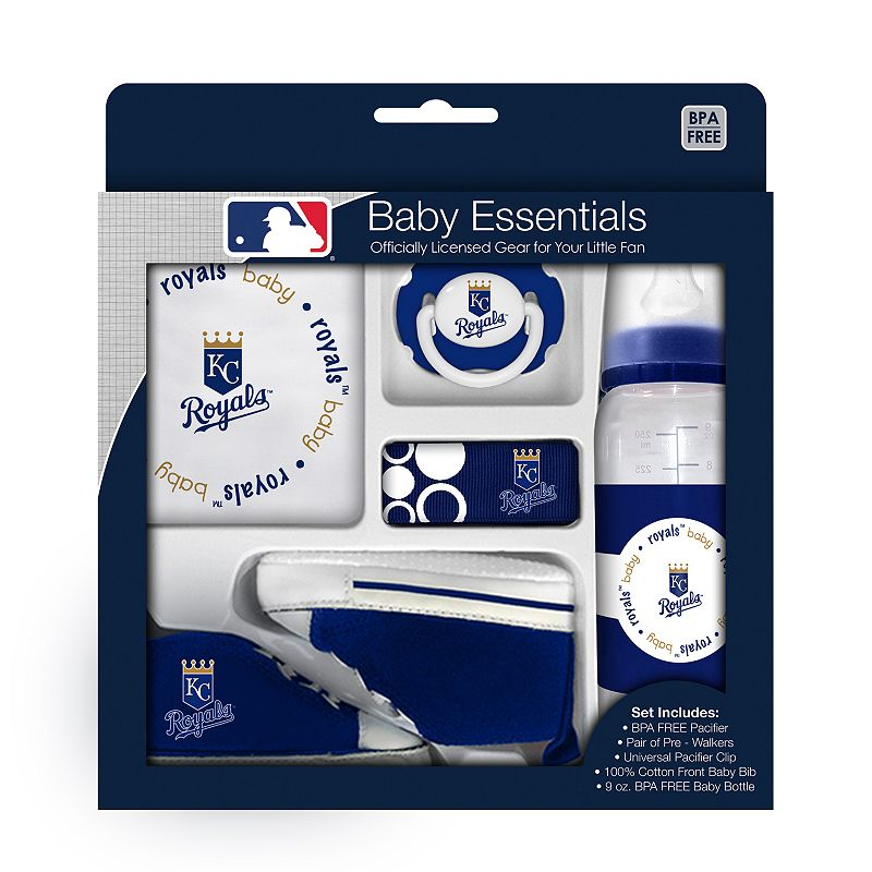 Baby gifts kansas city : Baby fanatic kansas city royals piece essentials gift