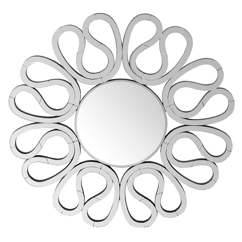 Privilege 31.5-inch Circle Center Wall Mirror