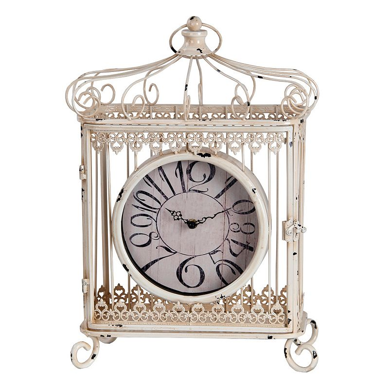 Privilege Traditional Iron Table Clock