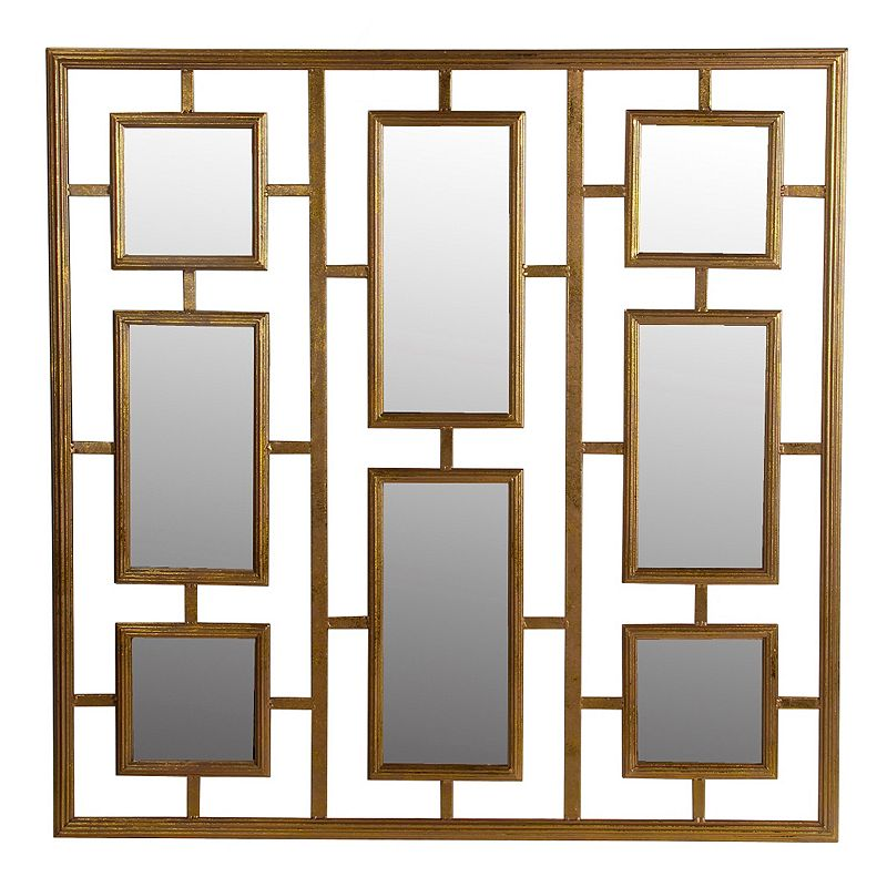 Privilege Cut-Out Iron Wall Mirror