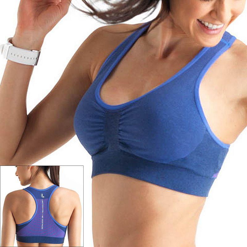 Lupo Bra: Tech Fit Medium-Impact Sports Bra 71437-001 - Women's