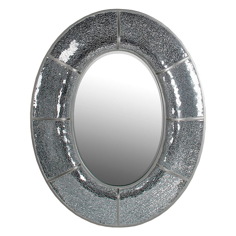 Privilege Oval Mosaic Mirror