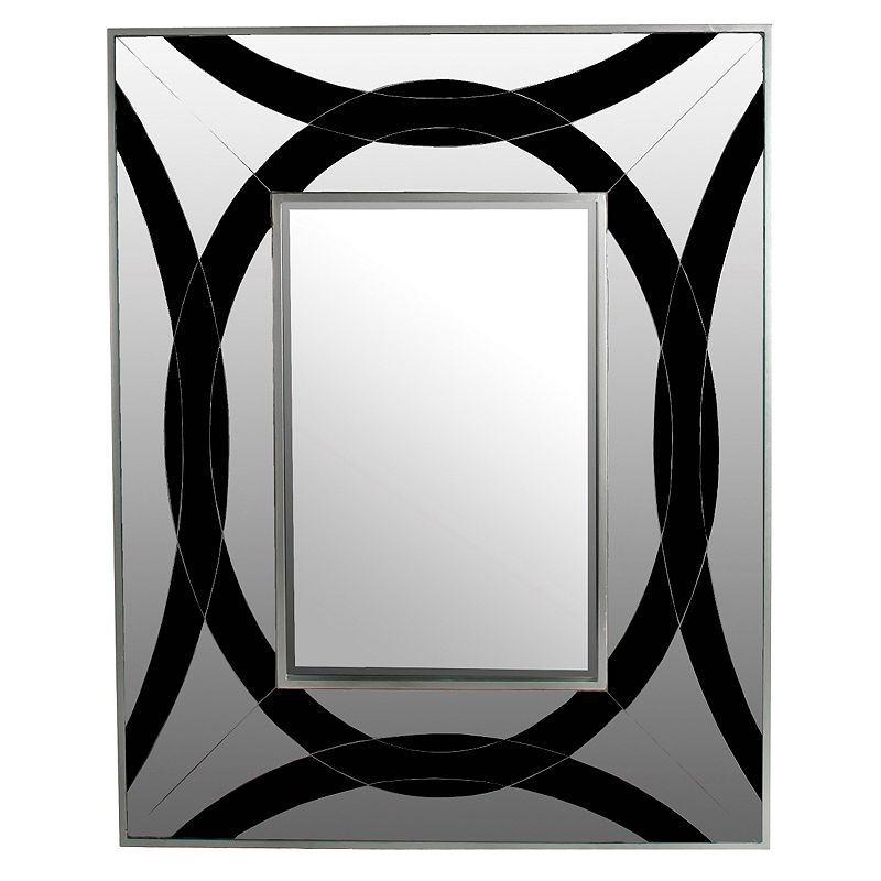Privilege Geometric Rectangular Mirror