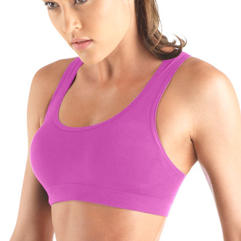 Lupo Bra: Total Fit Medium-Impact Sports Bra 71070-001 - Women's