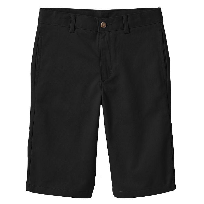 Chaps Flat-Front Twill Shorts - Boys 8-20
