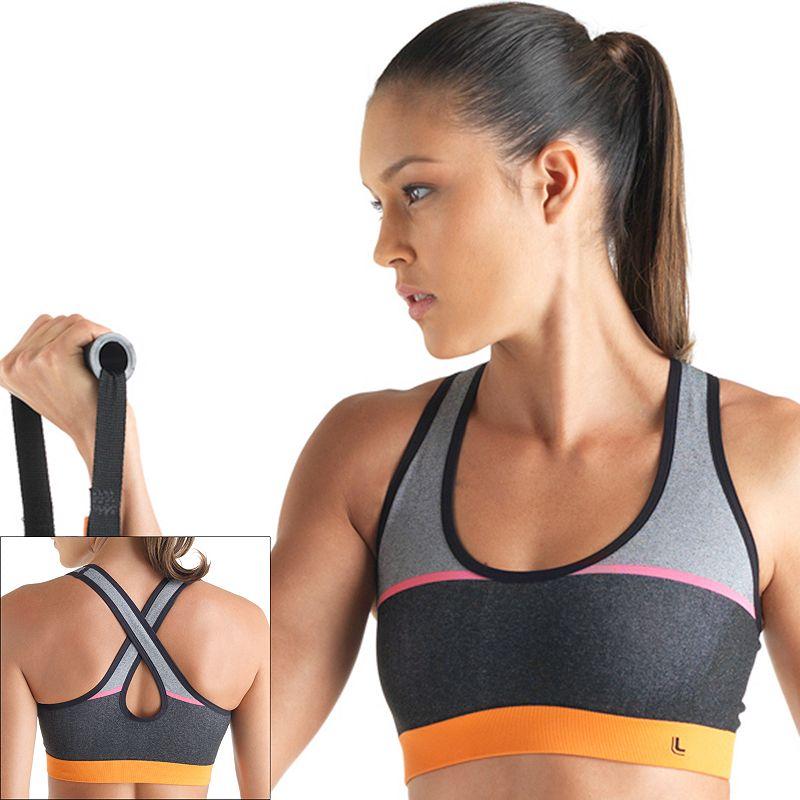 Lupo Bra: Fitness Pro Medium-Impact Sports Bra 71436-001 - Women's