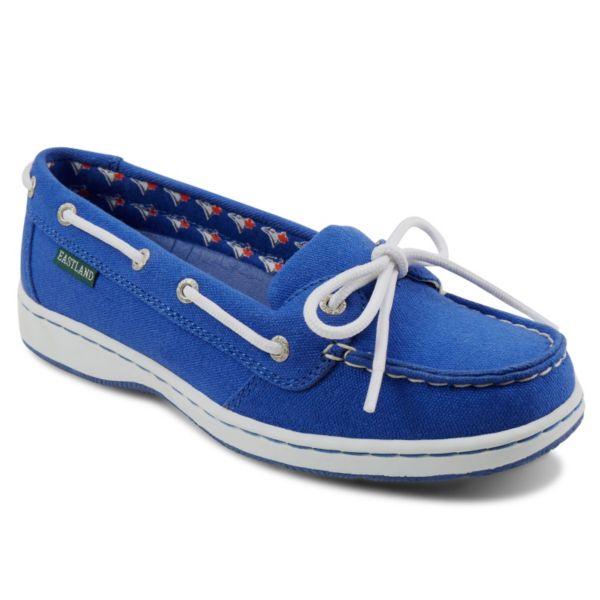 Women's Eastland Toronto Blue Jays Sunset Boat Shoes