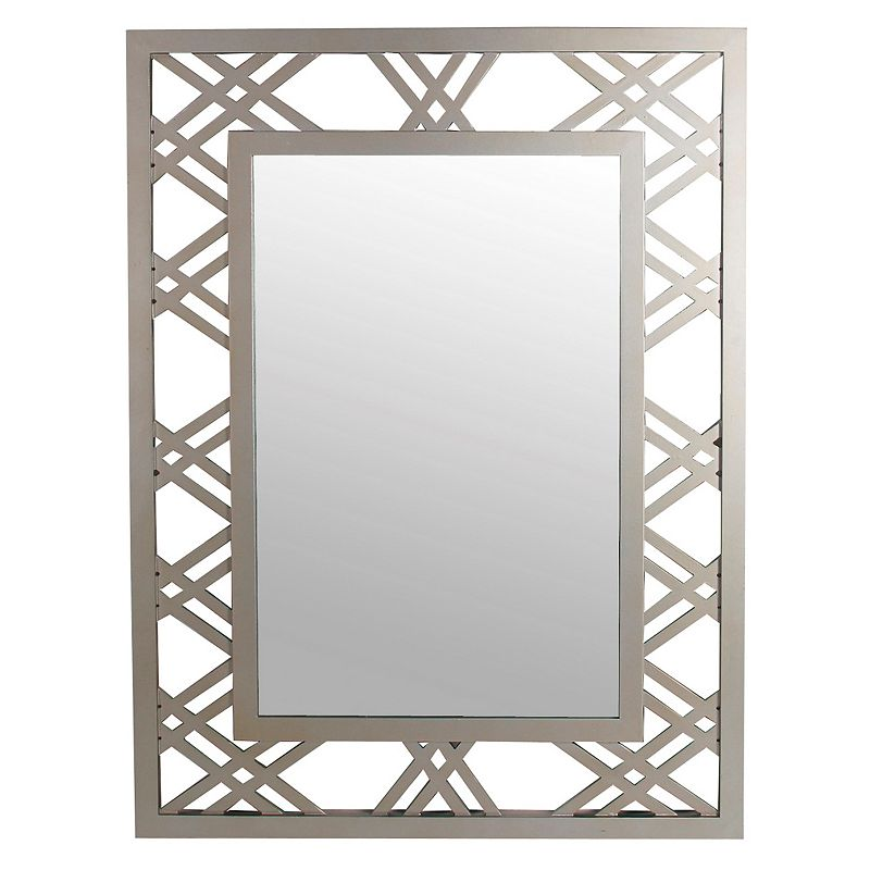 Privilege Detailed Frame Wall Mirror