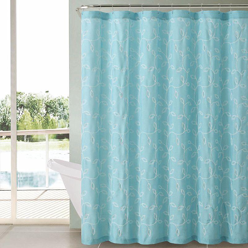 VCNY Caleb Fabric Shower Curtain