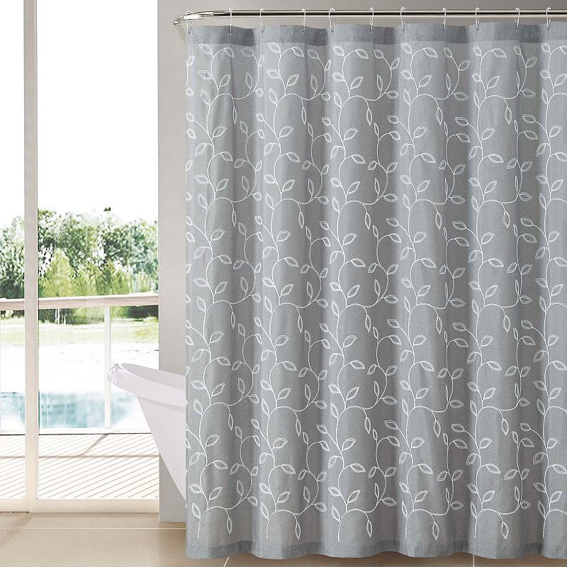 Victoria Classics Caleb Fabric Shower Curtain