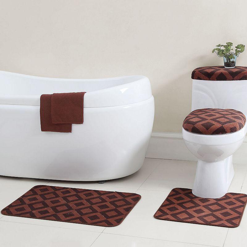 VCNY Vivienne 12-pc. Bath Rug & Bathtub Applique Set