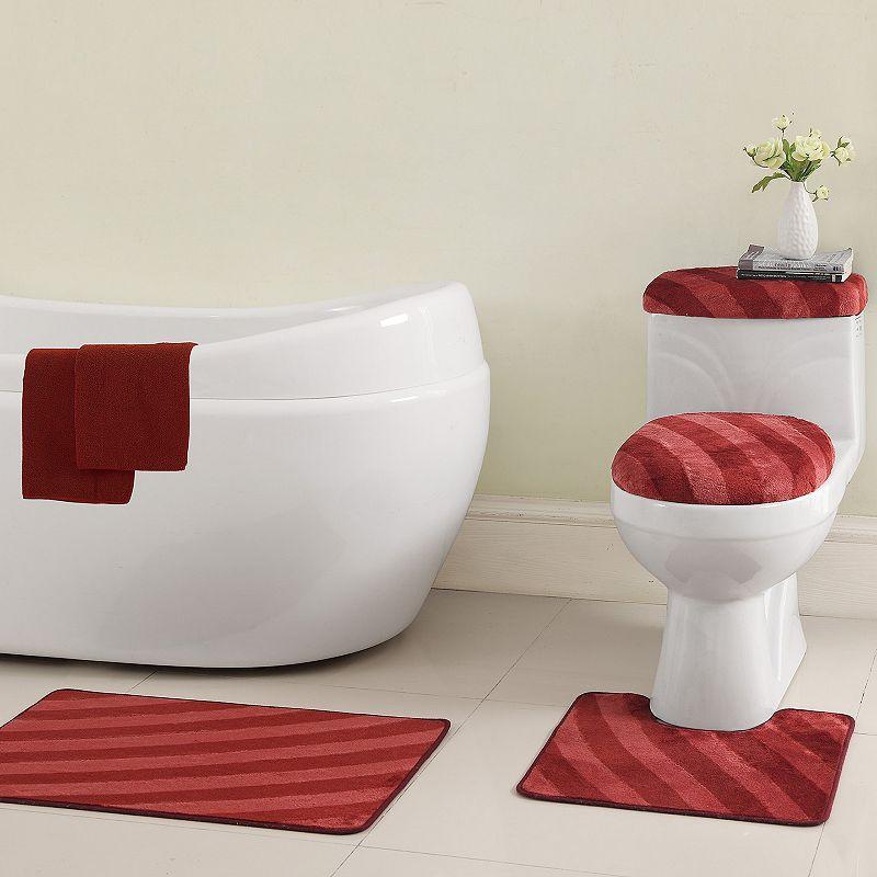 VCNY Addie 12-pc. Bath Rug & Bathtub Applique Set