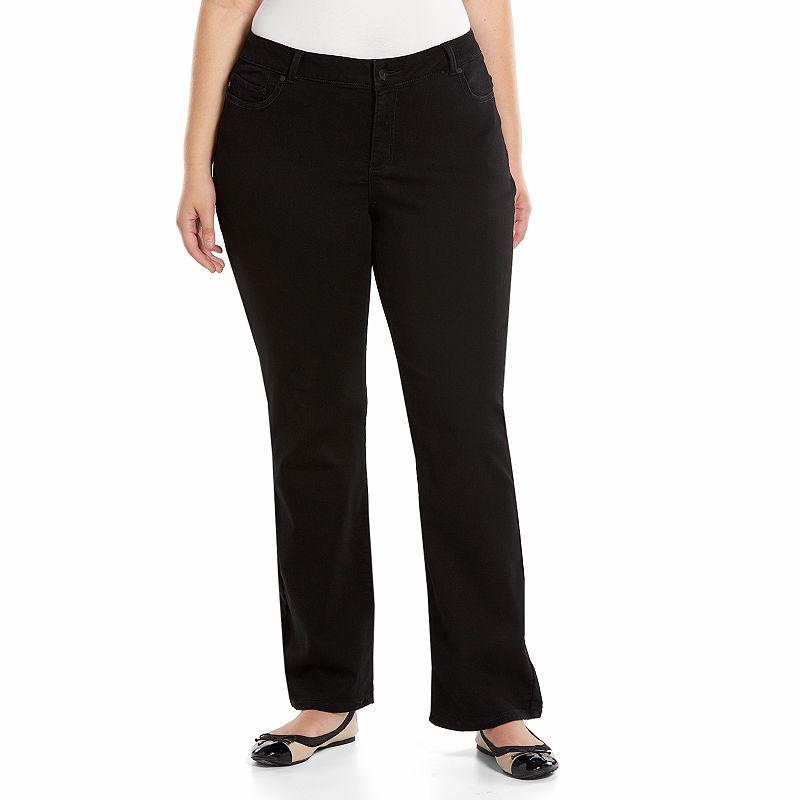 Plus Size Lee Louise Curvy Fit Bootcut Pants