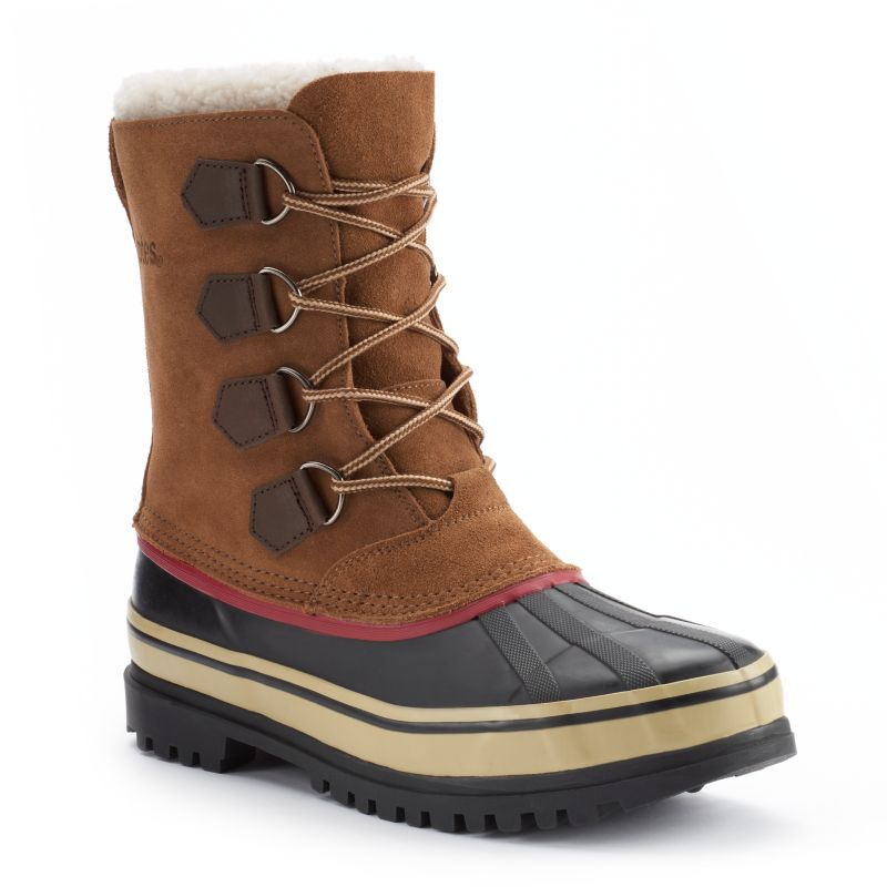totes barren s waterproof winter duck boots