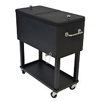 Party Outdoor Cooler Cart