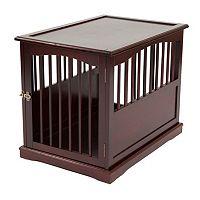 Primetime Petz Medium End Table Dog Kennel