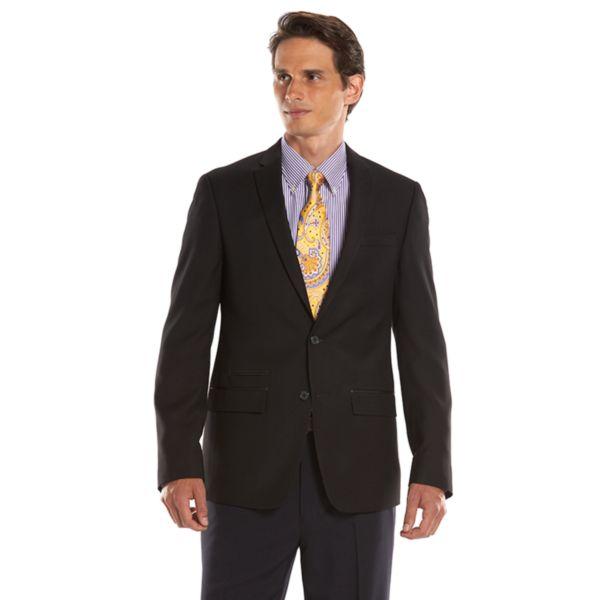Men's Andrew Fezza Slim-Fit Black Sport Coat