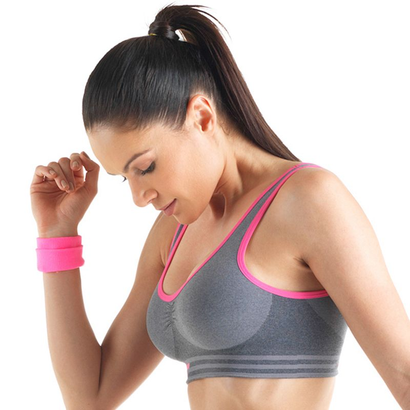 Lupo Bra: Comfort Fit Medium-Impact Sports Bra 71433-001 - Women's