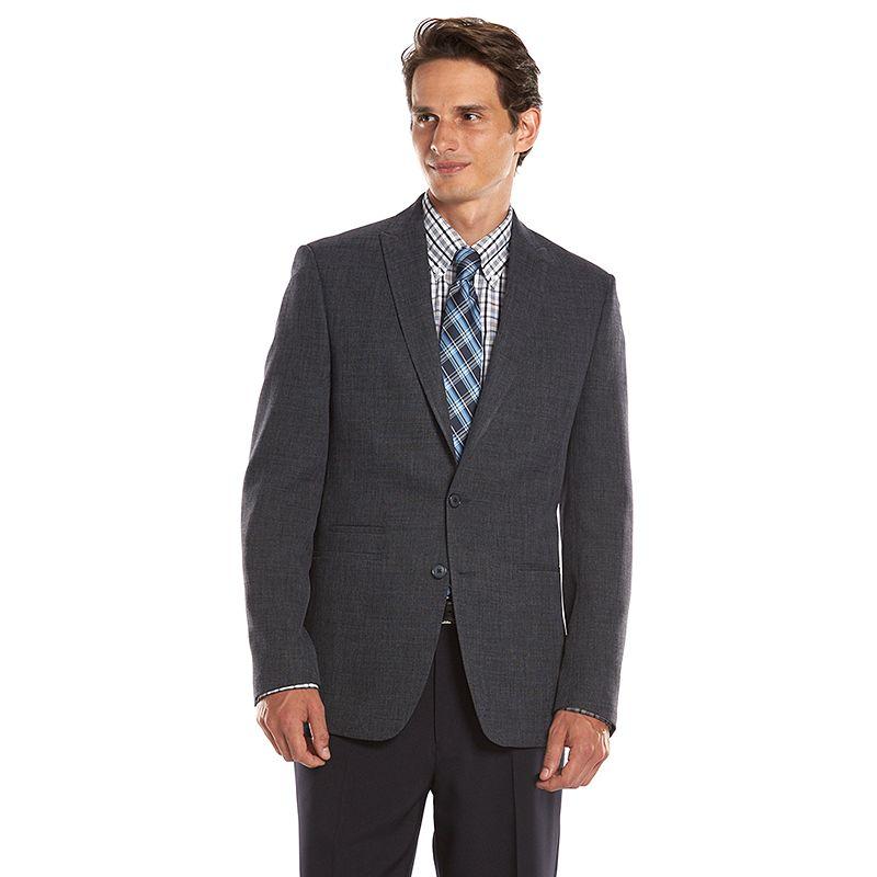Men's Andrew Fezza Slim-Fit Blue Melange Sport Coat