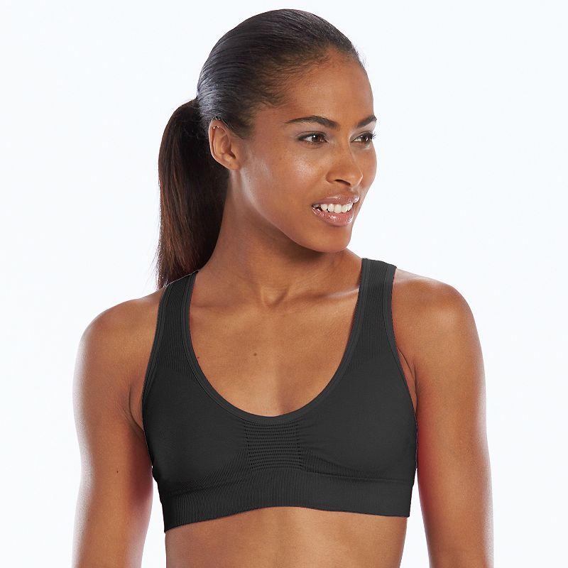 Lupo Bra: Slim Medium-Impact Sports Bra 71431-001
