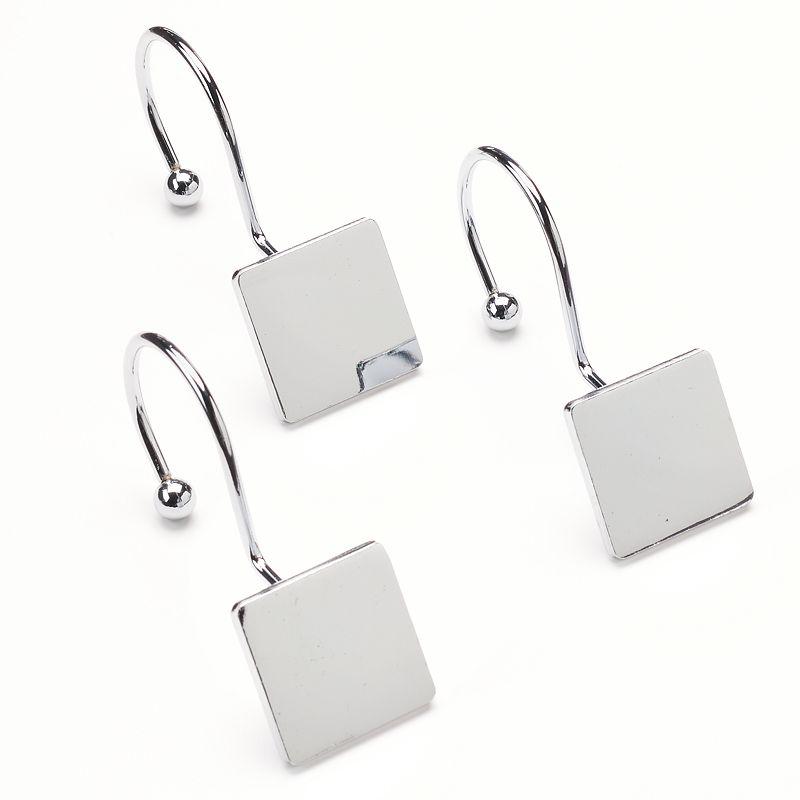 Home Classics® 12-pk. Level Square Shower Hooks