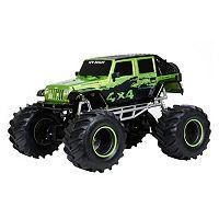 New Bright 1:8 Remote Controlled 12.8-Volt 4-Door Jeep 4x4