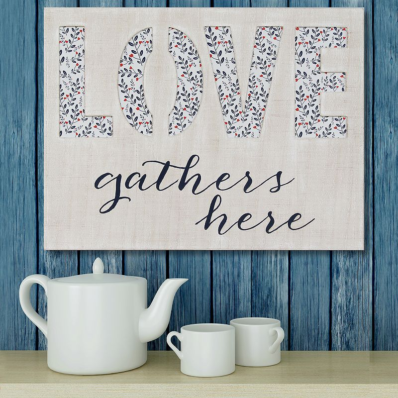 Stratton home decor love gathers here wall art multi for Stratton house