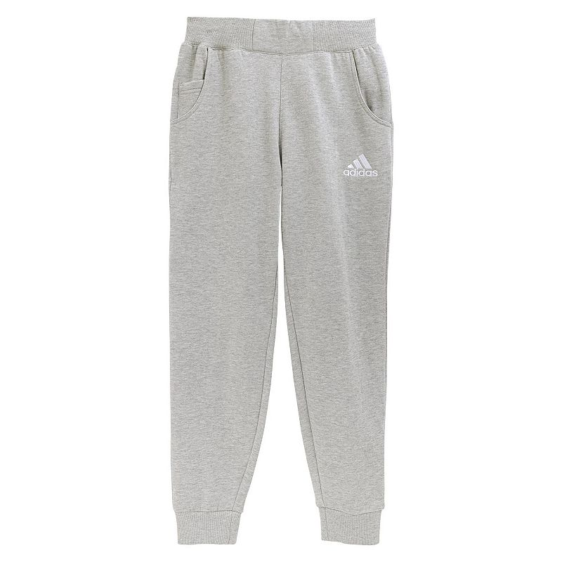 Boys 8-20 adidas Fleece Tapered Training Pants