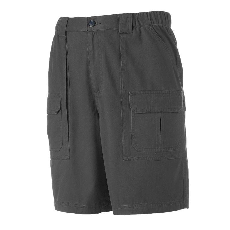 Men's Croft & Barrow® Side Elastic Twill Cargo Shorts