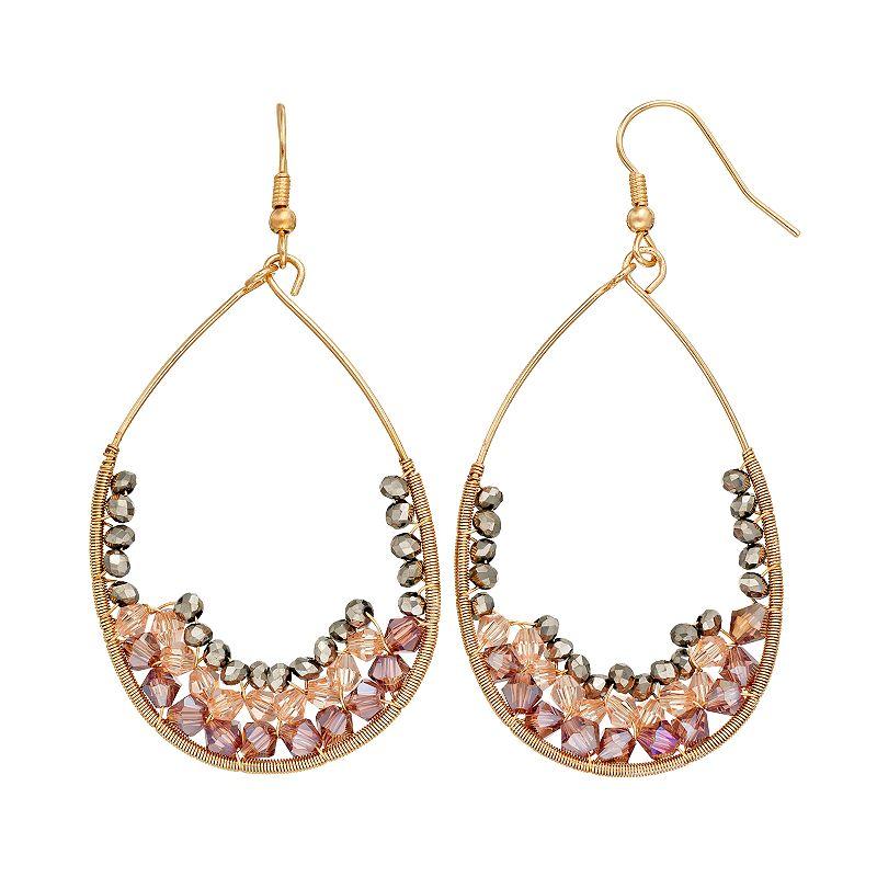GS by gemma simone Earth Goddess Collection Bead Teardrop Earrings