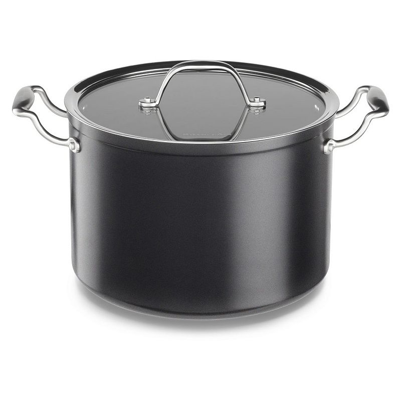 KitchenAid KCH180SCKD 8-qt. Hard-Anodized Nonstick Aluminum Stockpot