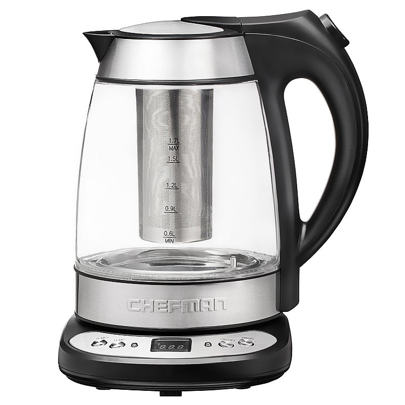Chefman 1.7-Liter Cordless Precision Electric Kettle