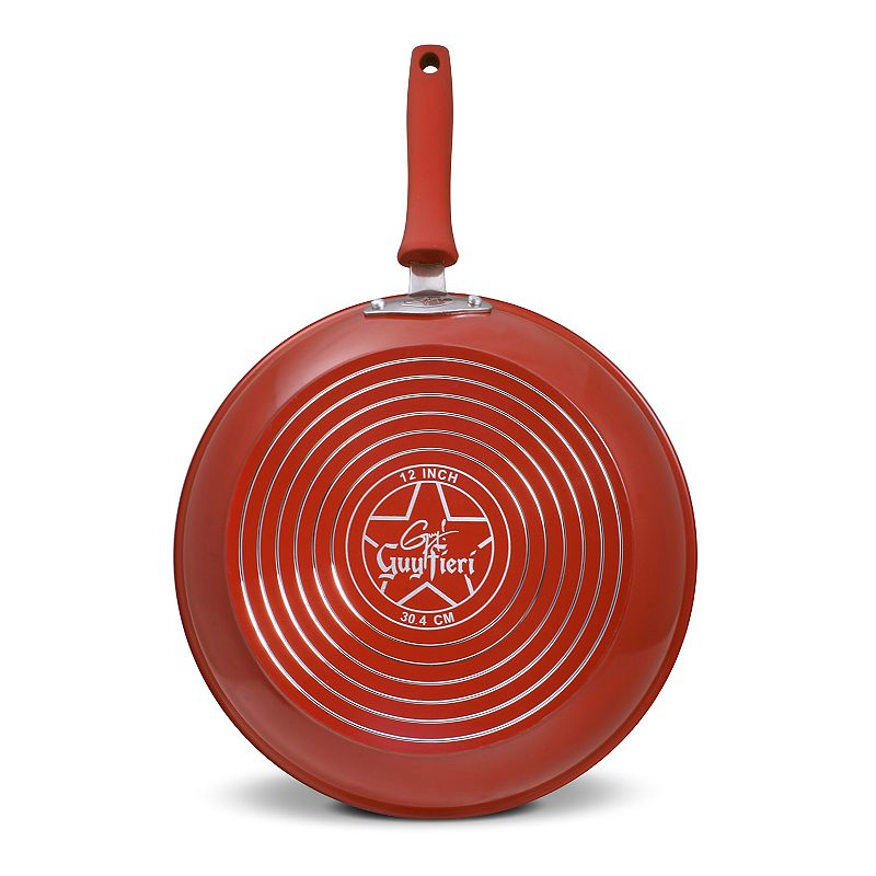 Guy Fieri 12-in. Nonstick Aluminum Frypan