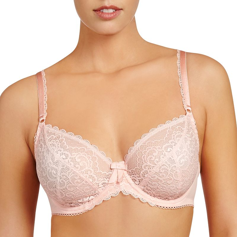 Evollove Bra: Ece Queen Sheer Lace Full-Figure Bra L20-0015 - Women's