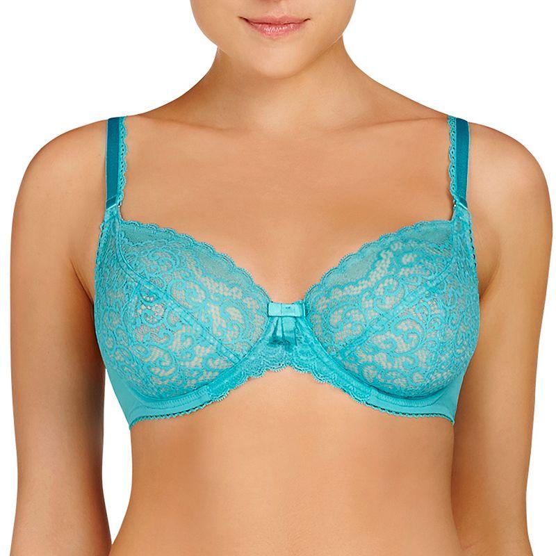 Evollove Bra: Ece Queen Sheer Lace Full-Figure Bra L20-0015 - Women's