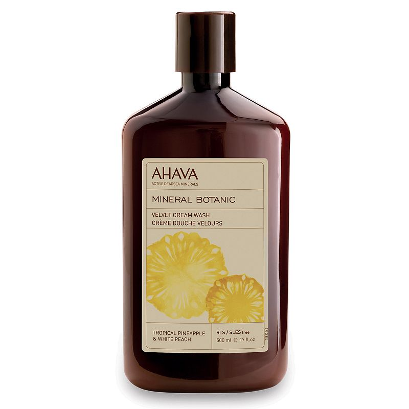 AHAVA Mineral Botanic Tropical Pineapple & White Peach Cream Wash