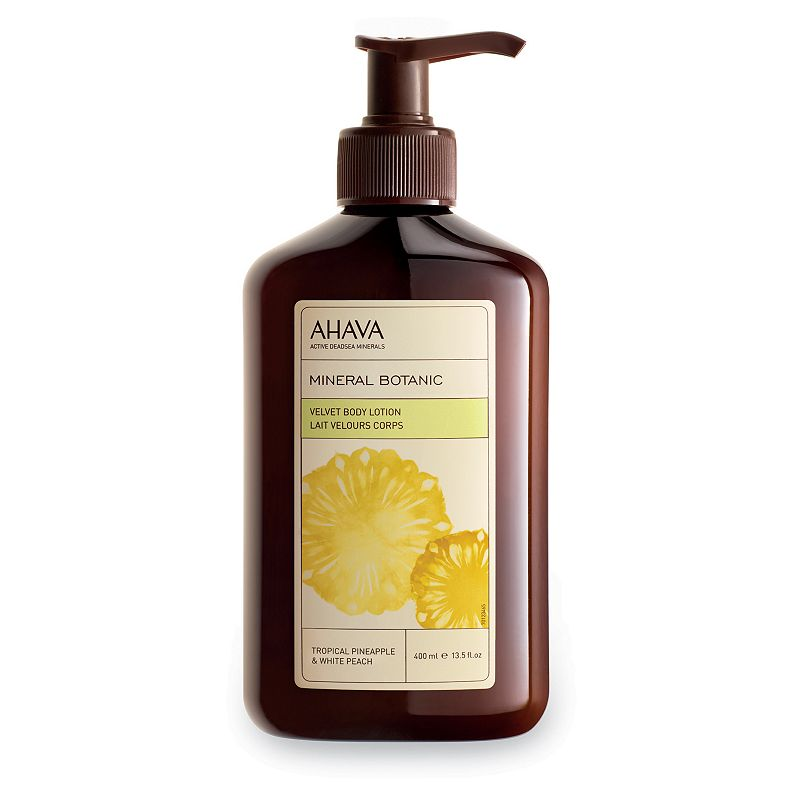 AHAVA Mineral Botanic Tropical Pineapple & White Peach Body Lotion
