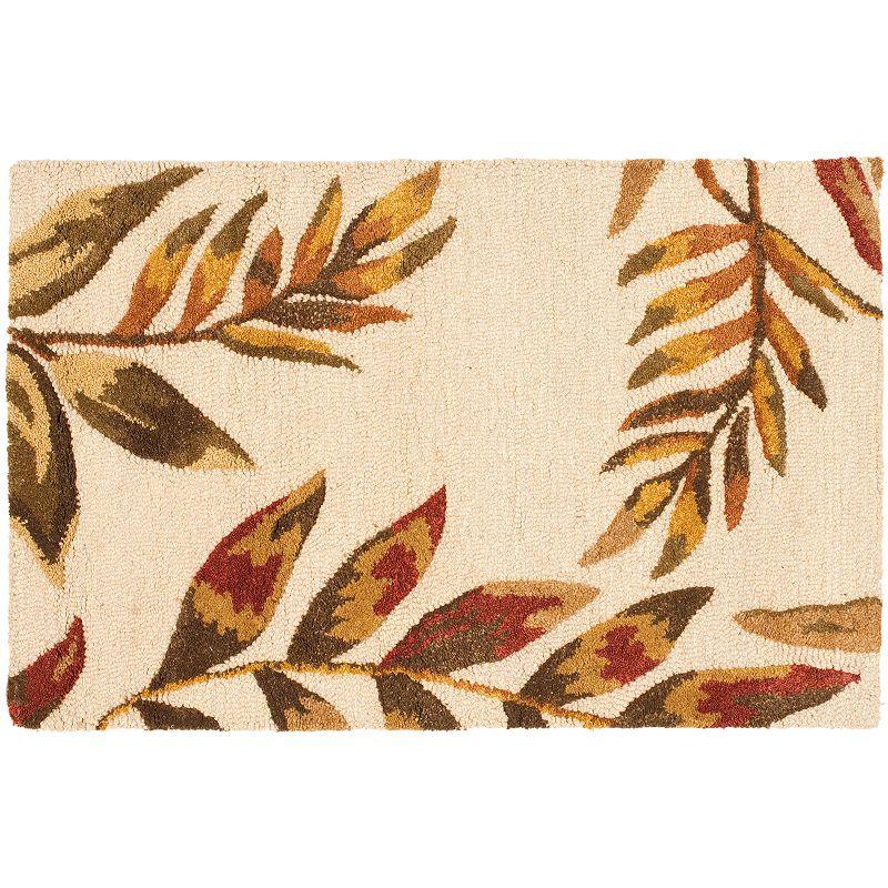 Safavieh Soho Beige Leaf Rug