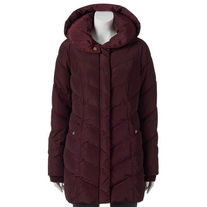 Women's Triple Star Hooded Puffer Jacket