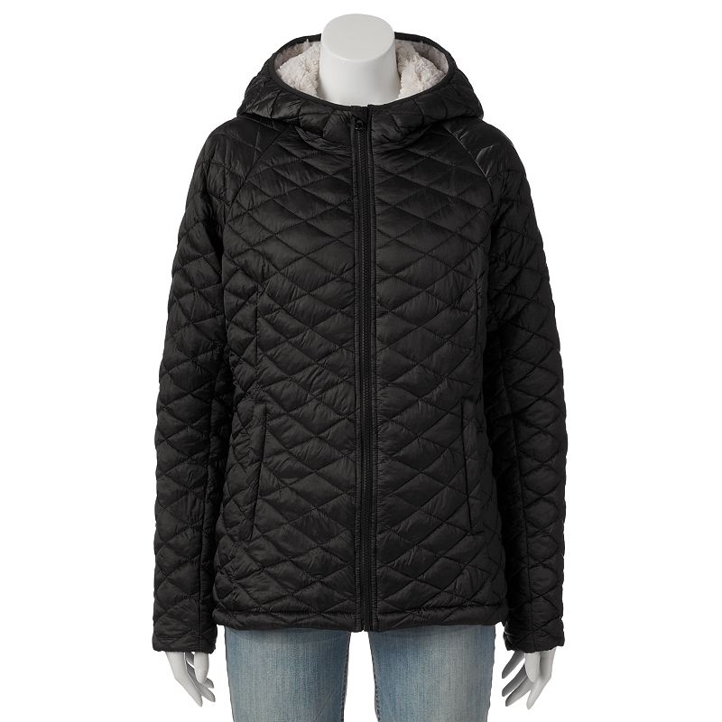 Women's Triple Star Hooded Quilted Jacket